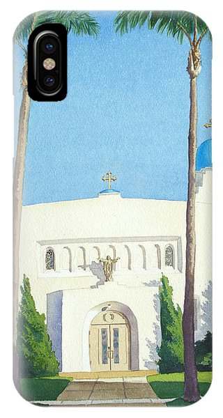 Sacred Heart Church Coronado IPhone Case