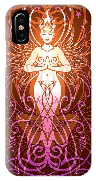 Tribal iPhone Case - Sacred State V.2 by Cristina McAllister