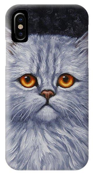 Sad Kitty IPhone Case