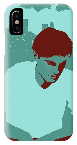 Anguish iPhone Case - Sad Man In Park With Couples by Ikon Ikon Images