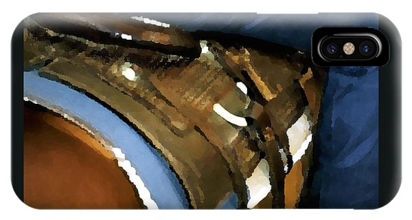 Saddle Blanket Levi 520 IPhone Case