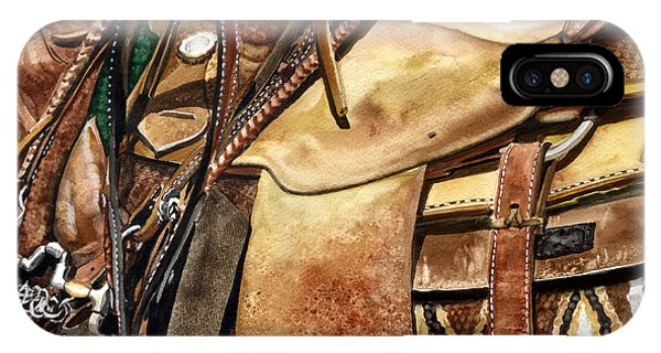 Saddle Texture IPhone Case