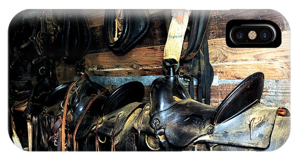 Saddles 103 IPhone Case