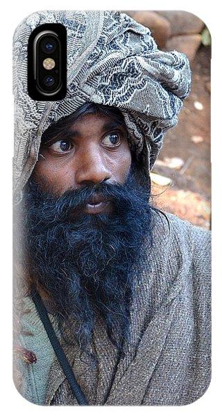 Sadhu At Amarkantak India IPhone Case