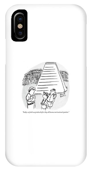 Sadly, No Food Was Produced After They All Became IPhone Case
