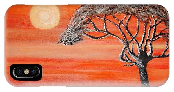 Safari Sunset 2 IPhone Case