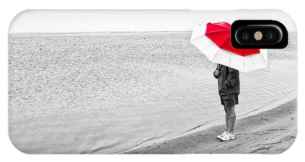 Safe Under The Umbrella IPhone Case