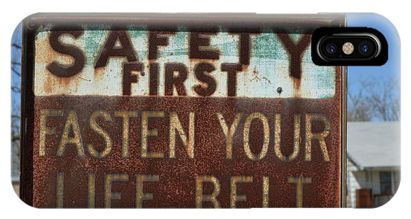 Safety First IPhone Case