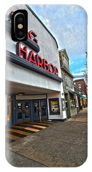 Sag Harbor Theater IPhone Case