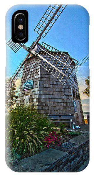 Sag Harbor Windmill IPhone Case