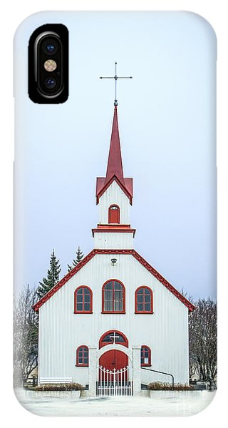 Christian Cross iPhone Case - Saga Of Eternity by Evelina Kremsdorf