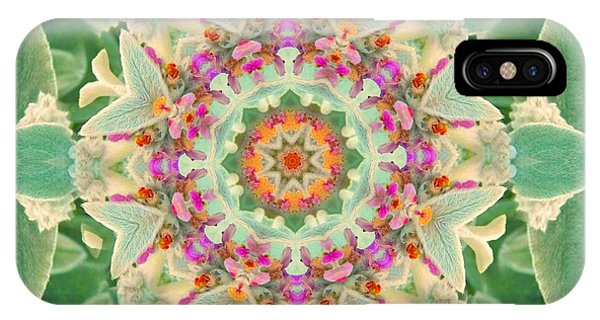 Sage Flower Mandala IPhone Case