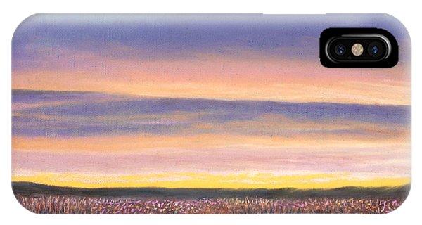 Sagebrush Sunset A IPhone Case