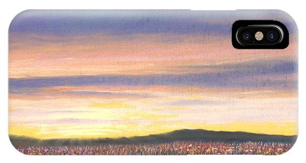 Sagebrush Sunset B IPhone Case