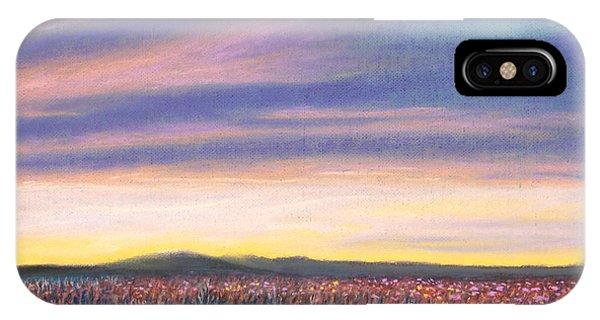 Sagebrush Sunset C IPhone Case