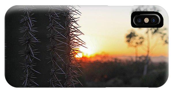 Sagurao Sunset IPhone Case