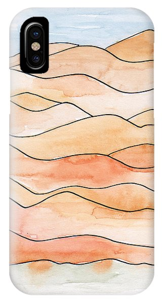Sahara Sand Dunes 2 IPhone Case