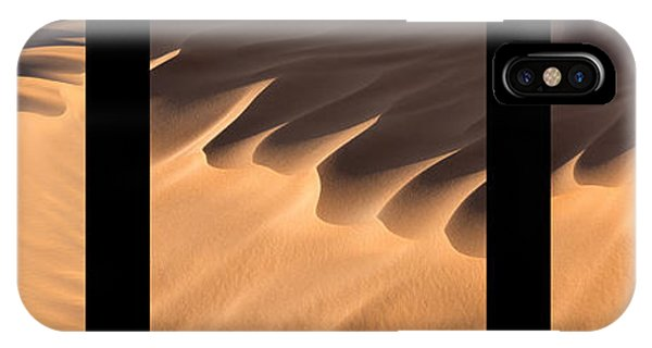 Caravan iPhone Case - Sahara Triptych by Delphimages Photo Creations