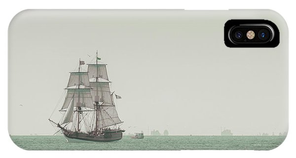 Boats iPhone Case - Sail Ship 1 by Lucid Mood