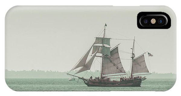 Boats iPhone Case - Sail Ship 2 by Lucid Mood