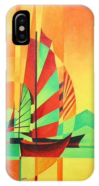 Sail To Shore IPhone Case