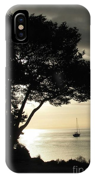 Sailboat At Dawn IPhone Case