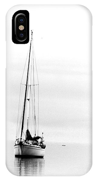 Sailboat Bw Too IPhone Case