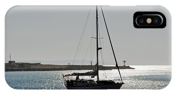 Sailboat Heading Home IPhone Case