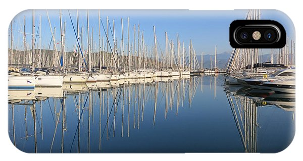 Sailboat Reflections IPhone Case