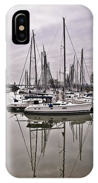 Sailboat Row IPhone Case