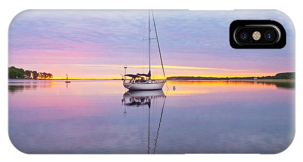 Sailboat Sunrise IPhone Case
