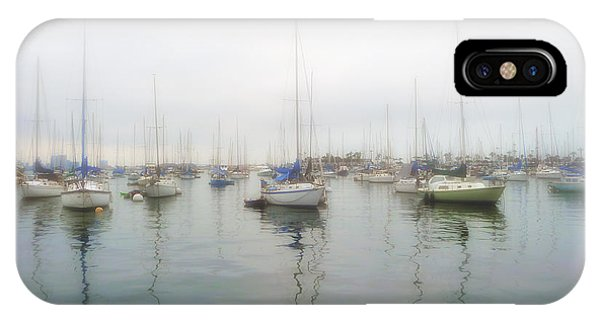 Sailboats On San Diego Bay IPhone Case