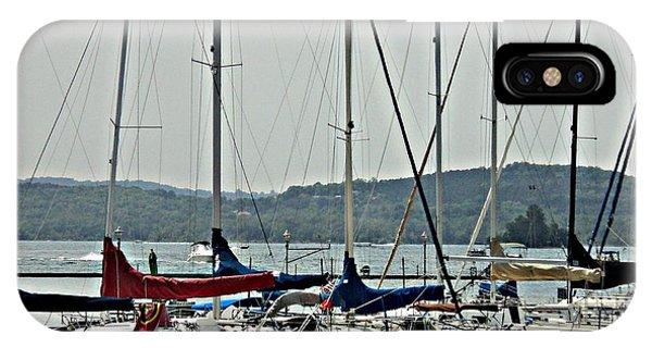 Sailboats Phone Case by Pics by Jody Adams