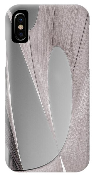 Uplift iPhone Case - Sailcloth Abstract Number 2 by Bob Orsillo
