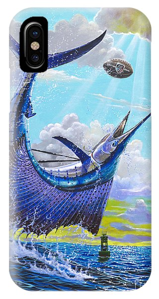 West Bay iPhone Case - Sailfish Football Off0030 by Carey Chen