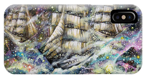 Sailing Among The Stars IPhone Case