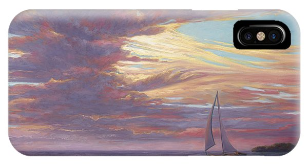 Florida iPhone Case - Sailing Away by Lucie Bilodeau
