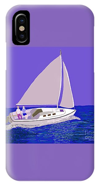 Sailing Blue Ocean IPhone Case