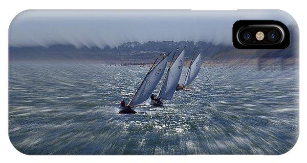 Sailing Boats Racing IPhone Case