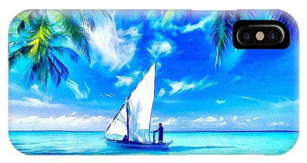Sailing IPhone Case