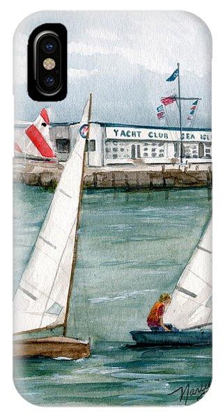 Sailing Class  IPhone Case