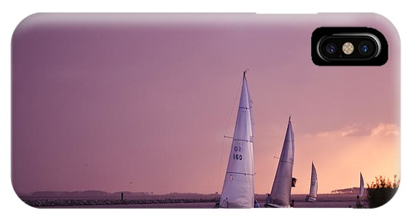 IPhone Case featuring the photograph Sailing From The Sun by Kelly Reber