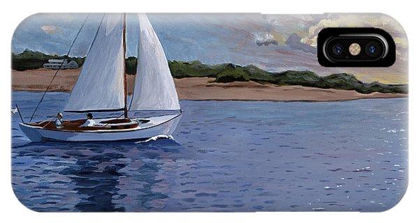 Sailing Homeward Bound IPhone Case