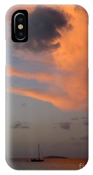 Sundown Over Trunk Bay IPhone Case