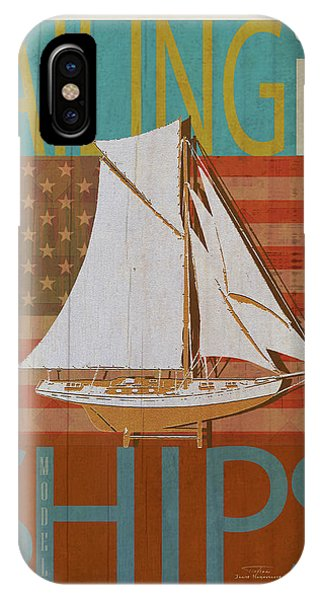 Sailing Is Model Ships America IPhone Case