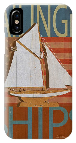 Sailing Is Model Ships Columbia IPhone Case