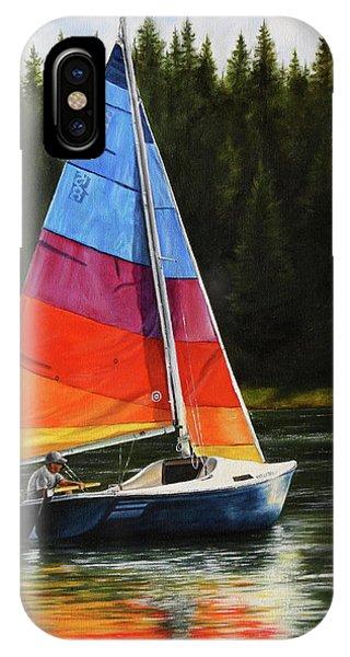 Sailing On Flathead IPhone Case