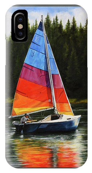Sailing On Flathead IPhone Case