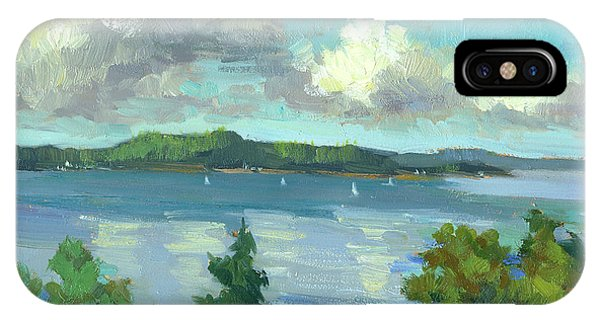 Sailing On Puget Sound IPhone Case