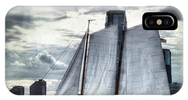 Sailing On The Hudson IPhone Case